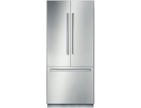 Bosch Benchmark B36BT830NS French Door Refrigerator Stainless Steel, Main Image