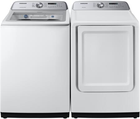 Samsung  1011146 Washer & Dryer Set White, 1