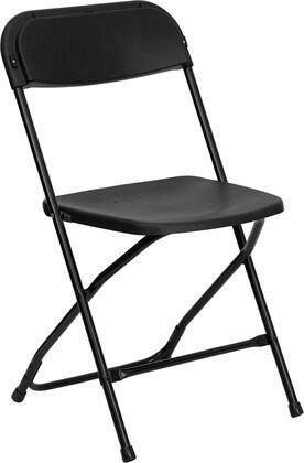 Flash Furniture Hercules LEL3BKGG Folding Chair Black, Main Image