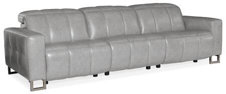 Hooker Furniture MS Series SS638P3094 Motion Sofa Gray, Silo Image