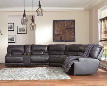 Signature Design by Ashley McCaskill U60900947181 Sectional Sofa Gray, Main Image