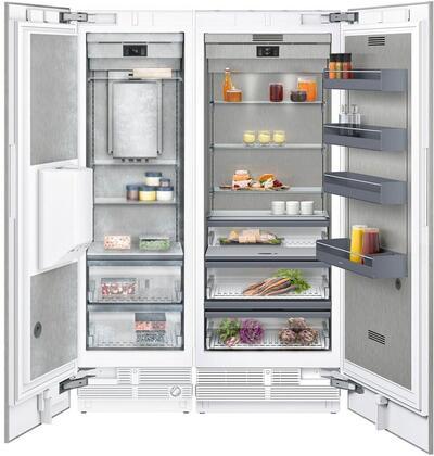 Gaggenau 400 Series 1383801 Column Refrigerator & Freezer Set Panel Ready, Main image