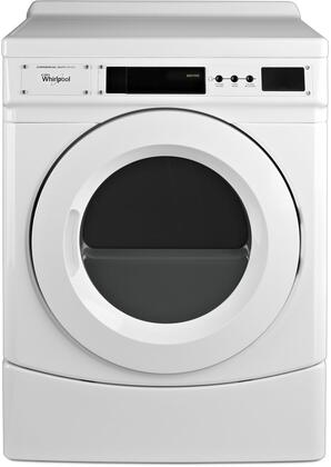 Whirlpool  CGD9160GW Commercial Dryer White, Main Image