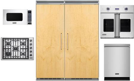 Viking 5 Series 977590 Kitchen Appliance Package Panel Ready, main image