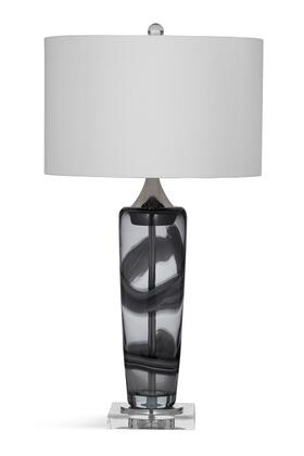 Bassett Mirror Metro L3305TEC Table Lamp White, L3305TEC