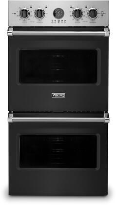 Viking 5 Series VDOE527CS Double Wall Oven Black, VDOE527CS Electric Double Wall Oven