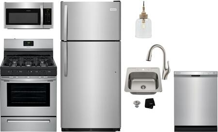 Frigidaire  1289726 Kitchen Appliance Package Stainless Steel, 28