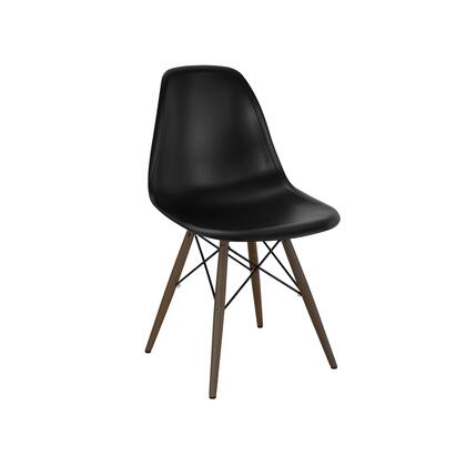 Design Lab MN Trige LS9440BLKWAL Accent Chair Black, a6a36fb1 30d7 4f40 abf1 617be024aacb