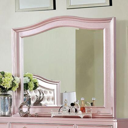 Furniture of America Ariston CM7171RGM Mirror Pink, CM7171RG-M
