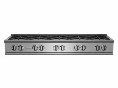 BlueStar RNB Series RGTNB6010BV2 Gas Cooktop Stainless Steel, RGTNB6010BV2 Rangetop