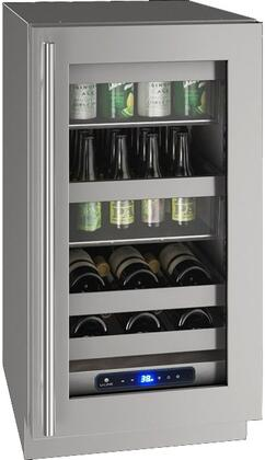 U-Line 5 Class UHBV518SG01A Beverage Center Stainless Steel, Main Image