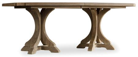 Hooker Furniture Corsica 518075206 Dining Room Table White, Main Image