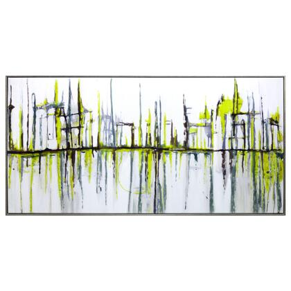 Signature Art Series 3230021 Lights of the Night 48″ x 24″ Acrylic Painting in Multi