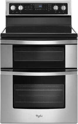 Whirlpool WGE745C0FS Freestanding Electric Range Stainless Steel, Main Image