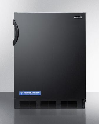 AccuCold  FF7BK Compact Refrigerator Black, FF7BK Compact Refrigerator