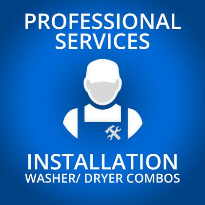 Professional Service WASHERCOMBOINSTALL Appliance Installation, 1