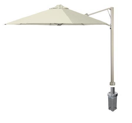 Shadowspec SU7 Series KITP7SQ25GAAWA Outdoor Umbrella White, Artic White