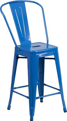 Flash Furniture CH3132024GBBLGG Bar Stool Blue, 1