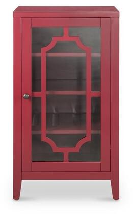 Acme Furniture Fina 97182 Wine Rack Red, 1