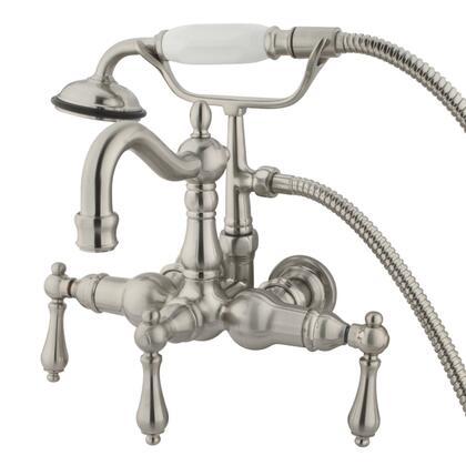 Kingston Brass Vintage CC1007T8 Faucet Silver, Main Image