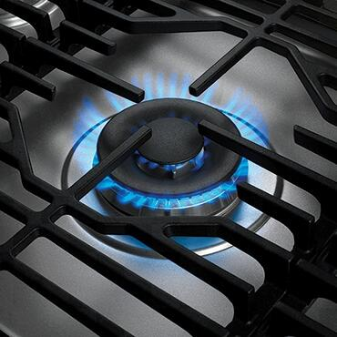 Dacor Heritage HCT365GS Gas Cooktop Stainless Steel, SimmerSear Burner
