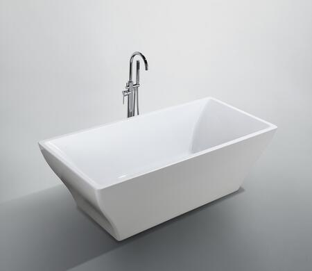 Bellaterra Home Messina BA6826 Bath Tub White, Main Image