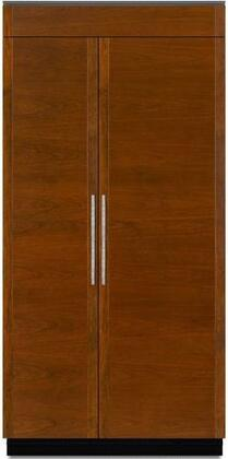 Jenn-Air  JS42NXFXDE Side-By-Side Refrigerator Panel Ready, JS42NXFXDE 42-Inch Fully Integrated Built-In Side-by-Side Refrigerator