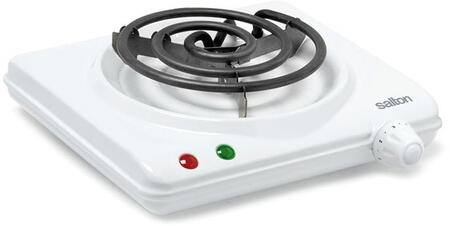 Salton  HP1305 Electric Cooktop White, Main Image