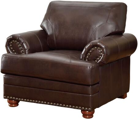 Coaster Colton 504413 Living Room Chair Brown, Main Image