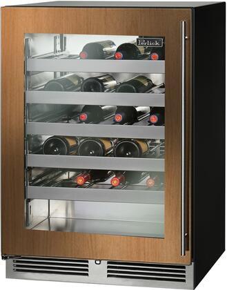 Perlick C Series HC24WB44L Wine Cooler 26-50 Bottles Panel Ready, Main Image