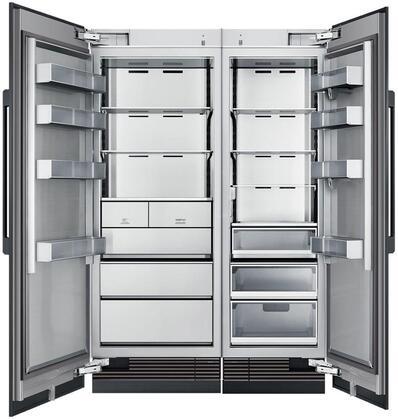 Dacor Modernist 872750 Column Refrigerator & Freezer Set Panel Ready, Custom Panels and Handles not Included