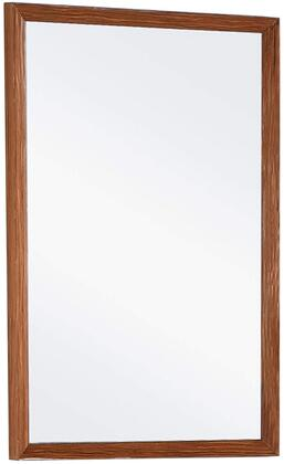 Urbania URM24TK 22″ x 34″ Mirror with Wooden Frame Construction and Smudge Resistant Finish in