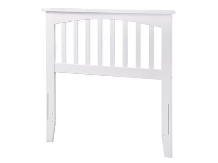 Atlantic Furniture Mission AR287822 Headboard White, AR287822 SILO F 180