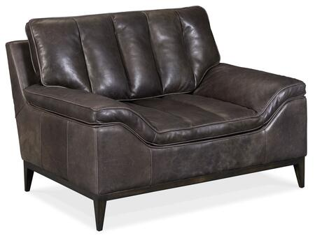 Hooker Furniture SS Series SS60401097 Living Room Chair Black, Silo Image