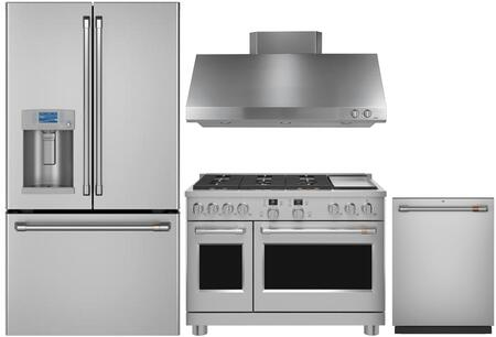 Cafe  1067730 Kitchen Appliance Package Stainless Steel, main image