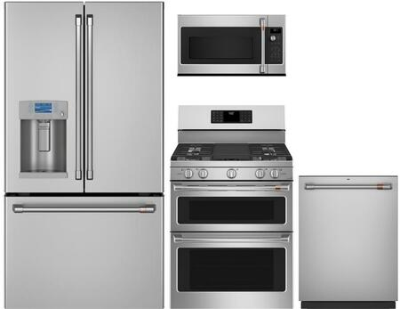 Cafe  1065215 Kitchen Appliance Package Stainless Steel, main image