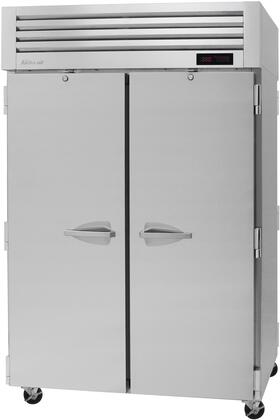 PRO-50H-PT 52″ Pro Series Solid Door Pass-Thru Heated Cabinet with 50.6 cu. ft. Capacity  Digital Temperature Control & Monitor System  Ducted Fan
