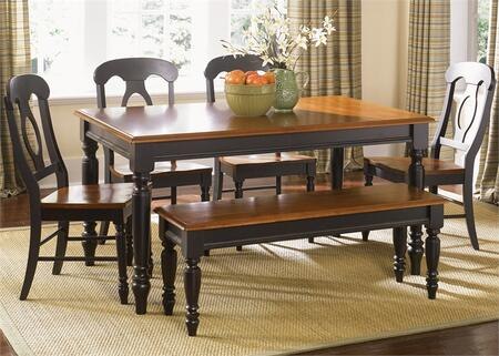 Liberty Furniture Low Country 80CDO6RLS Dining Room Set Multi Colored, Main Image