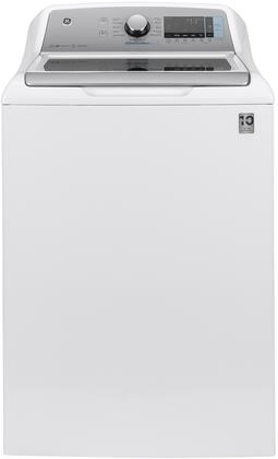 GE  GTW845CSNWS Washer White, Front View