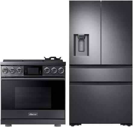 Dacor  1291007 Kitchen Appliance Package Graphite Stainless Steel, Main image