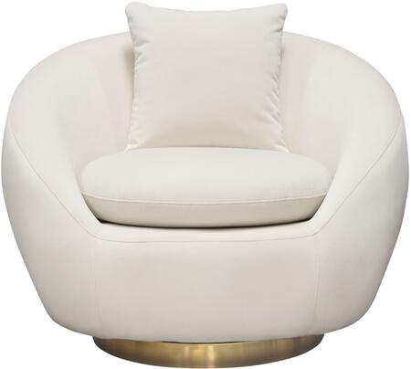 Celine_Collection_CELINECHCM_Swivel_Accent_Chair_with_Fabric_Upholstery__Accent_Pillow_Included_and_Brushed_Gold_Metal_Accent_Band_in_Light
