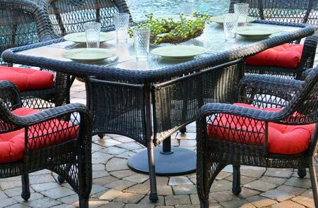 Tortuga Portside PS66DX Outdoor Patio Table, 1