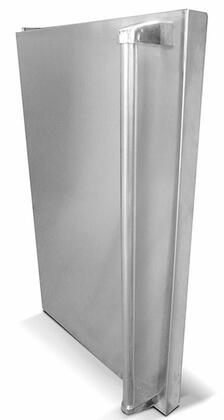 SSFDL Stainless Steel Refrigerator Door 237414