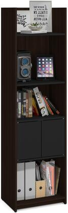 Bestar Furniture Krom 167001179 Shelf Brown, Storage Tower