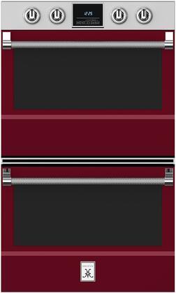 Hestan  KDO30BG Double Wall Oven Red, 1