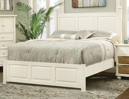 Cottage Creek Furniture Beachfront Collection 1703tbdmnc 5 Piece Bedroom Set With Twin Panel Bed Dresser Mirror Nightstand And Chest In Cottage White Appliances Connection