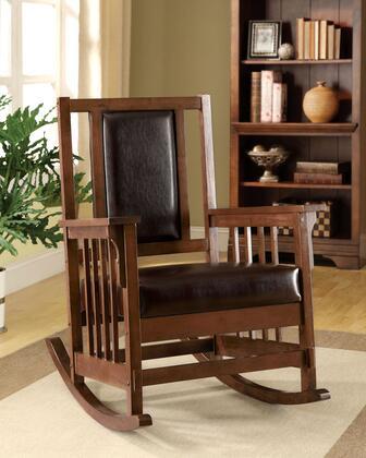 Furniture of America Apple Valley CMAC6580PU Accent Chair , CM AC6580 PU