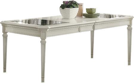 Acme Furniture Florissa 62090 Dining Room Table White, 1