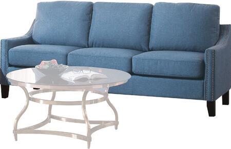 Acme Furniture Zapata 5145S Stationary Sofa, 1