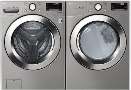 LG  957409 Washer & Dryer Set Silver, 1